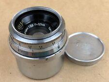 Contax RF Carl Zeiss Jena 3.5cm F/2.8 Biogon Lens #2029222 w/ caps - Good Glass