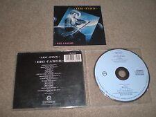 TIM FINN CD The  Big Canoe 1986 Pressing 2 Bonus TRACKS Crowded House