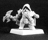 1x PATHFINDER DWARF GRUNT - WARLORDS REAPER miniature jdr rpg nain axe 14460