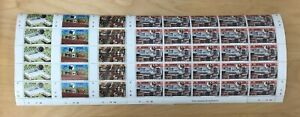 Botswana 1981 - SC#285-8 - Cattle, Cows - 4 Sets of Sheets - 100 Stamps - MNH