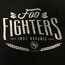 Foo Fighters Black Tshirt Xl