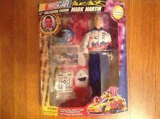 "1997 Nascar Mark Martin 12"" poseable figure w/ Fleer Ultra collector card"