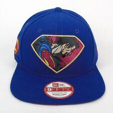 New Era Cap Men's DC Comics Superman Laser Beam 950 Snapback Hat - Size M/L