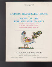 Marlborough Rare Books Catalogue 56 Modern Illustrated Books