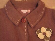 Monsoon Embroidered Pure Wool Coat, Coatigan, NWoT, 12-13 Years, 8/10