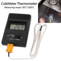 TM-902C LCD TERMOMETRO DIGITALE -50/1300°C CON TESTER SONDA TIPO K SONDAGGIO