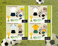 Papua New Guinea 2006 World Football Cup, Germany MS **MNH SG MS1127 cv £7.50