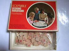 Vintage 1975 Scrabble Scoring Anagrams Game Selchow & Righter No. 92 Complete