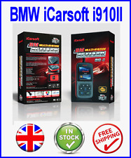 BMW 1 3 5 7 SERIES DIAGNOSTIC SCAN TOOL RESET FAULT CODE READER ICARSOFT i910 II