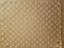 Fortuny fabric - Canestrelli, ivory and Silvery gold texture