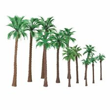 12pcs Model Palm Trees Artificial Train Railway Park Scenery Layout HO N Scale