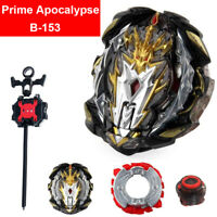 Prime Apocalypse Beyblade GT B-153 Booster Burst Rise Ultimate Toy Launcher Set