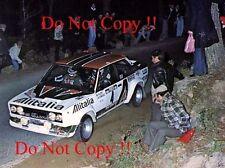 MARKKU ALEN ALITALIA FIAT 131 ABARTH Vincitore Rally Portogallo fotografia 1978