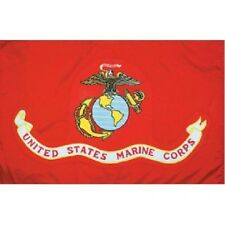 3'x5' MARINE Flag Nylon SolarMax United States Military Armed Forces MADE IN USA