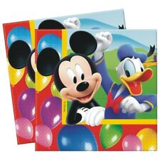 "20 Disney Mickey Mouse Clubhouse Balloons Birthday Party 6.5"" Party Napkins"