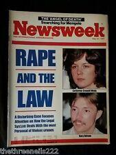 NEWSWEEK - RAPE & THE LAW - MAY 20 1985