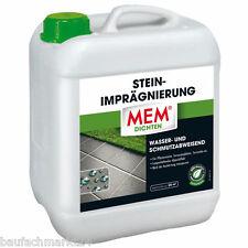 MEM Steinimprägnierung 5 Liter Stein-Imprägnierung Steinreiniger