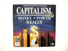 Capitalism Plus * Strategy Computer Video Game * Money, Business & Finance * CD