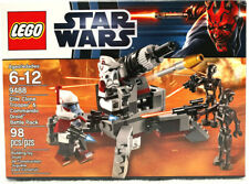 LEGO 9488 Star Wars Elite Clone Trooper & Commando Droid Battle Pack New Sealed