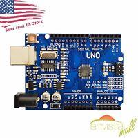 Arduino UNO R3 Compatible ATmega328P CH340 USB Board DIY US Seller