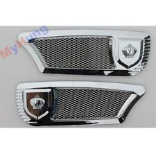 2PCS Car Styling Accessories Universal DIY Car Air Flow Vent Side Door Stickers.