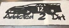Late Model Race Car dirt asphalt Plasma cut Man Cave Wall Decor Metal Art
