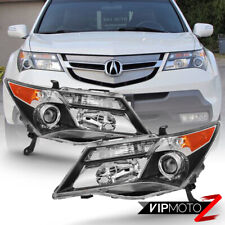 07-09 Acura MDX w/o AFS Model ONLY Factory Style Replacement Headlight L+R Pair