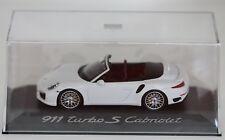 Sammlermodell Modellauto Porsche 911 Turbo S Cabriolet 1:43