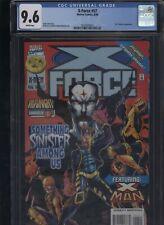X-Force #57 CGC 9.6 Jeph Loeb ANTHONY CASTRILLO 1996