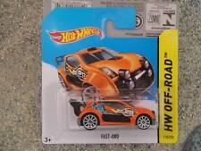 Hot Wheels 2014 # 110/250 Fast 4wd NARANJA HW todoterreno LOTE Jarno