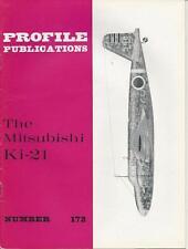 PROFILE PUBLICATIONS #172 MITSUBISHI KI-21 WWII MILITARY AIRPLANE PLANE