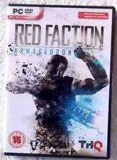 45454 - Red Faction Armageddon  [NEW & SEALED] - PC (2011) Windows XP