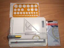 Aristo Geo A4 Board Zeichenplatte für Berufschule oder Studium. Zusatz Schablone