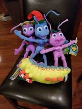 Vintage Disney Pixar Plush Bugs Life Caterpillar 90s
