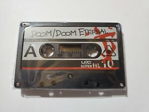 DOOM Eternal + DOOM 2016 Collector's Edition Cassette Tape Soundtrack + Code