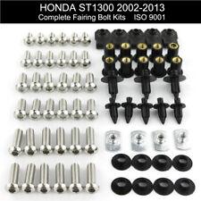 Complete Fairing Bolts Kit For 2002-2013 Honda ST1300 2006 2007 2008 2009 2010