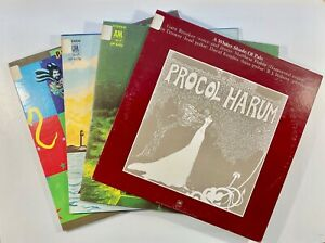 Lot of the First Four (4) Procol Harum Reissue LP's UNPLAYED NM