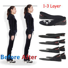 7CM Unisex Adjustable Increase Insole Layer Height Heel Shoe Air Cushion Pad