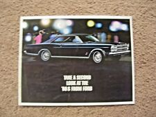 1966 Ford dealer brochure Galaxie LTD Country Squire Fairlane Mustang Falcon