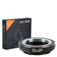 K&F Concept adapter for Leica M39 mount lens to  Sony NEX E mount camera