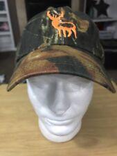 Robert Lougheed Camouflage Camo Buck Deer Hat Hunting Baseball Hat Cap