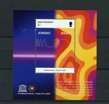 Montserrat 2015 MNH UNESCO International Year of Light 1v S/S Ultraviolet