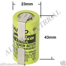 Nickel Cadmium Sub-C 1800mAh Rechargable Tagged Battery - Part # CAD271