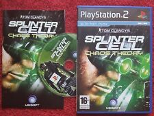 Tom Clancy's Splinter Cell Chaos Theory Original Black Label SONY PS2 PAL