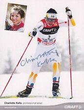 Charlotte Kalla: Olympia Gold WM Gold Langlauf SWE