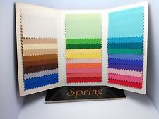 Seasonal Color Analysis Fabric Swatch Pack - Spring Color Palette