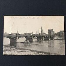 CPA - NANTES - Le Pont Haudaudine et Le Quai Magellan 1908 - Carte Postale