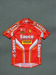 Saeco cannondale Valli&Valli Le Maniglie cycle jersey