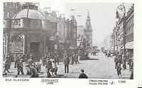 Scotland Postcard - Old Glasgow - Trongate c1905 - Ref BS627