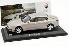 MASERATI 100 YEARS COLLECTION  Quattroporte GTS 1.43  Leo Models ABMAS001